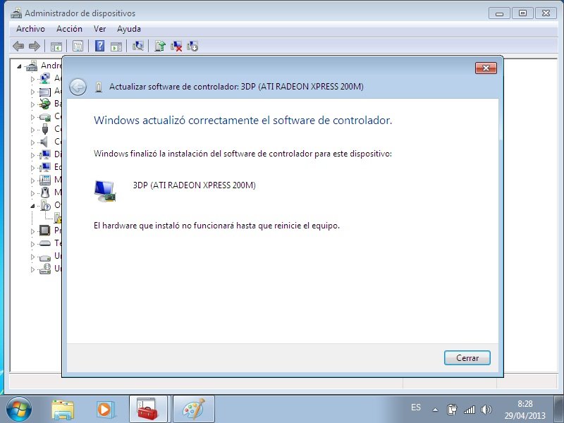 descargar driver tarjeta de video vga estandar windows 7